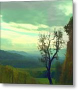 Tuscany Vineyard  Metal Print