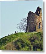 Tutbury Castle Ruins Metal Print