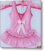 Tutu With Ribbon Metal Print