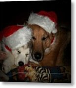 Twas The Night Before Christmas Metal Print by Marjorie Imbeau
