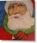 Twas The Night Before Christmas Metal Print