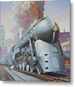 Twenthieth Century Limited Metal Print