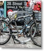 Twenty Eight Street Metal Print
