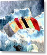 Twenty-first Century Icarus Metal Print