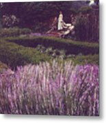 Twilight Among The Lavender Metal Print
