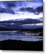 Twilight At Loch Bracadale Metal Print