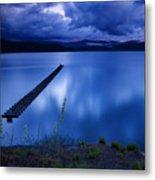 Twilight Blue Metal Print