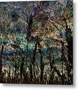 Twilight Grain Metal Print