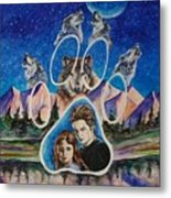 Twilight Imprinting Metal Print