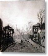 Twilight Landscape 1880 Alexey Kondratievich Savrasov Metal Print