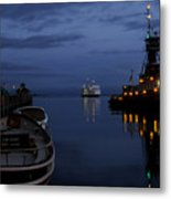 Twilight Last Gleaming Metal Print
