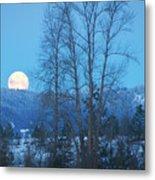 Twilight Moon Metal Print