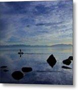 Twilight Paddle  Metal Print