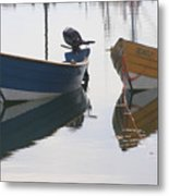 Twin Boats Metal Print
