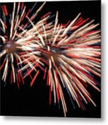 Twin Burst Metal Print by Norman  Andrus