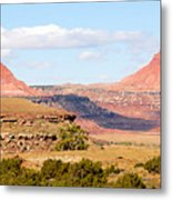Twin Buttes Metal Print