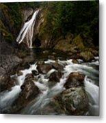 Twin Falls Landscape Metal Print