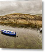 Twin Fishing Boats Metal Print