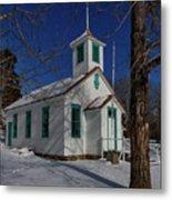 Twin Lakes School District No. 009 Established 1895 Metal Print