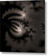 Twin Moons Metal Print