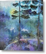 Twin Pines Metal Print