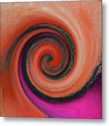Twirl 07 Metal Print