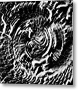 Twisted Gears Abstract Metal Print