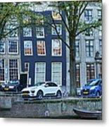 Twisted Panorama. Amsterdam Metal Print
