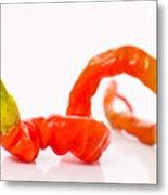 Twisted Pepper Metal Print