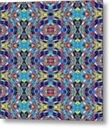 Twister Tile Metal Print