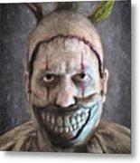 Twisty The Clown Metal Print