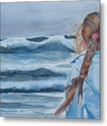 Twixt Wind And Water II Metal Print