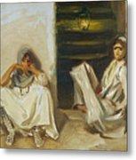 Two Arab Women Metal Print