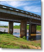 Two Bridges Metal Print