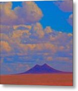 Two Butte Colorado Revisited Metal Print