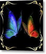 Two Butterflys -4 Metal Print