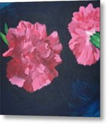 Two Carnations Metal Print