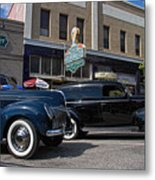 Two Cars Metal Print