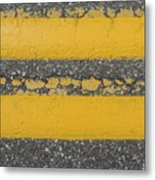 Two Country Yellow Metal Print