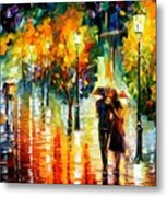 Two Couples Metal Print