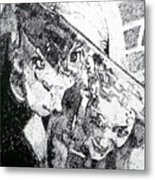 Two-faced Metal Print