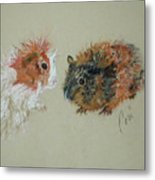 Two Guineas Metal Print