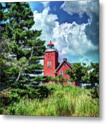 Two Harbors Lighthouse Metal Print