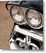 Two Headlights Metal Print