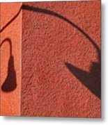 Two Lamps Metal Print