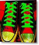 Two Left Feet Metal Print