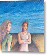 Two Marys Metal Print by Laurie Parker