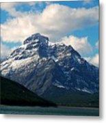 Two Medicine Lake And Rising Wolf Mountain Metal Print