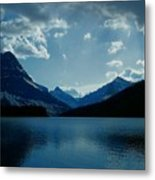 Two Medicine Lake Metal Print