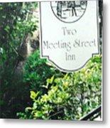 Two Meeting Street Metal Print